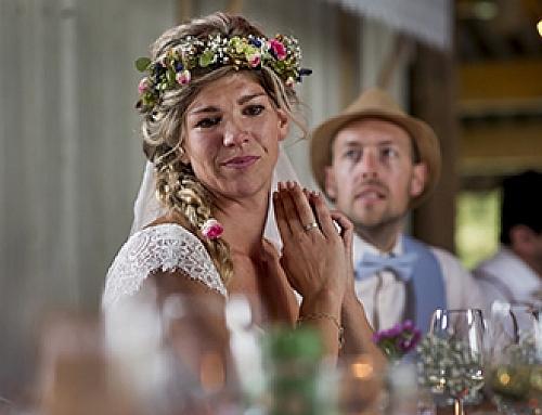 Meike & Martijn, trouwen op de boerderij