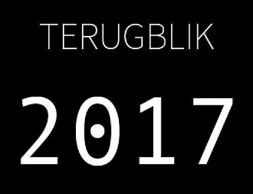 Terugblik op 2017!